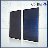 Manufacture direct supplier high efficiency coating flat plate solar water heater collector prices