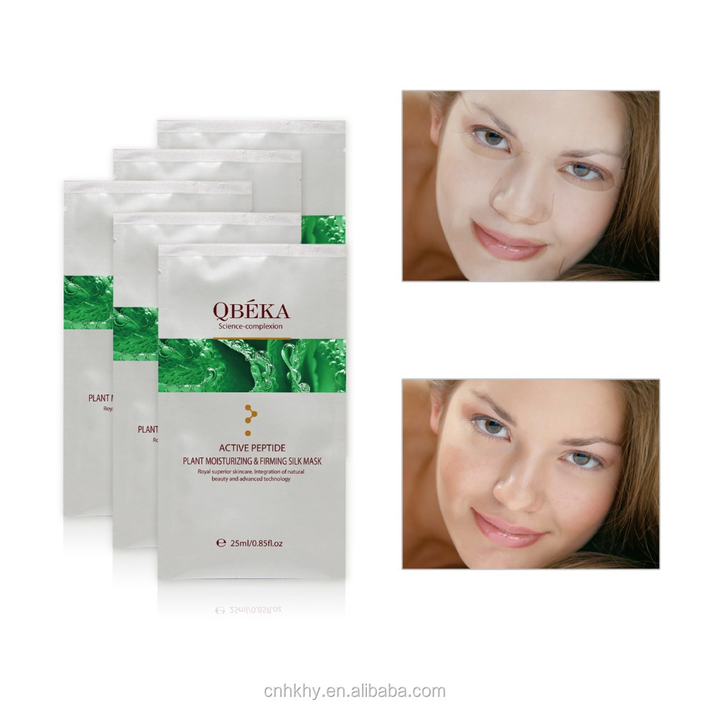 facial tissue mask,fibroin whitening moisture facial mask,natural silk facial mask