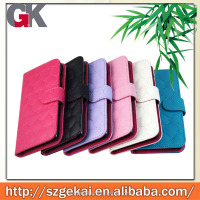 New cellphone cover with card slots money slots wallet flip leather cases and covers for iphone6