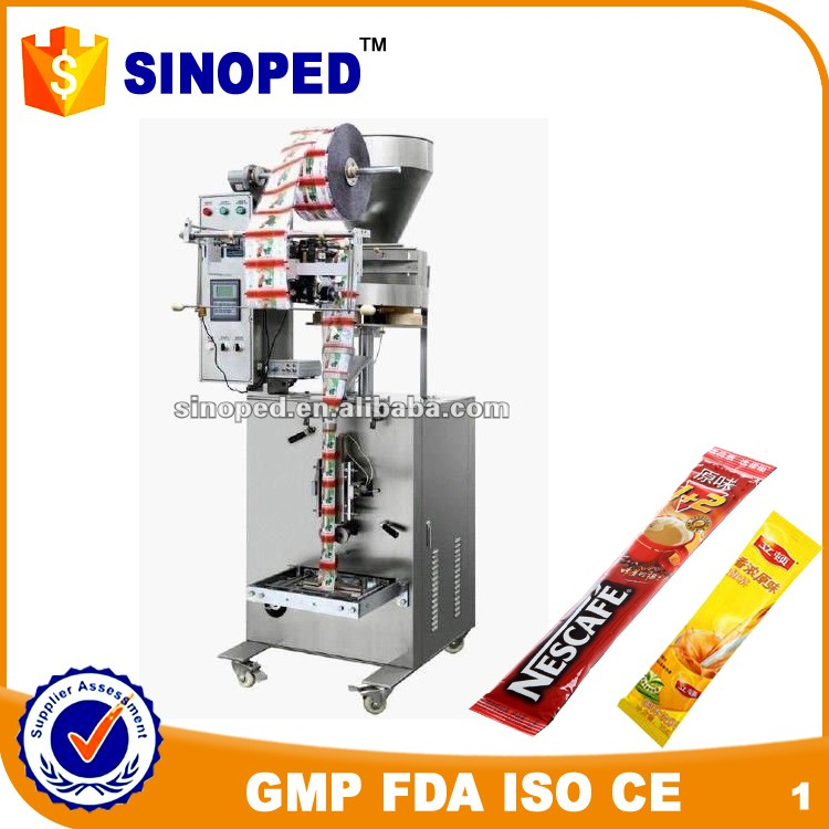 Trade assurence sugar sachet packing machine