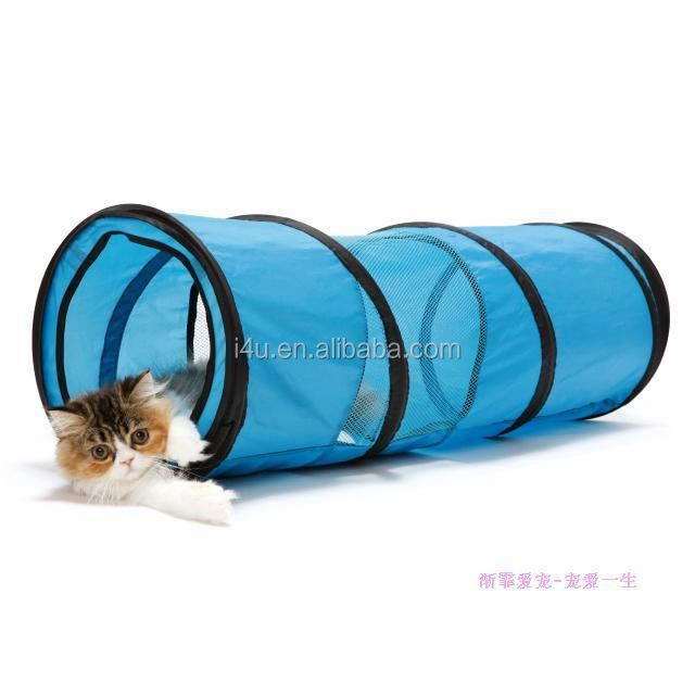 Dog Pet Agility Obedience Training Tunnel Pop Open