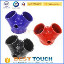 Elbow 45/90/135/180 degree reducing elbow 45 degree silicone hose replacement for racing