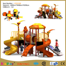 KINPLAY brand 2017 custom playground slides kids children ladder plastic garden beautiful presentation slides