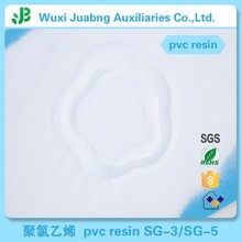 Certificated High Quality White Color SG5 Pvc Plastic Resin Pellet