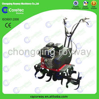 Recoil starting gasoline mini agricultural rotavator