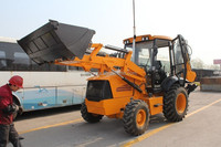 Hot sales Chinese small/mini backhoe loader with 2000kg capacity