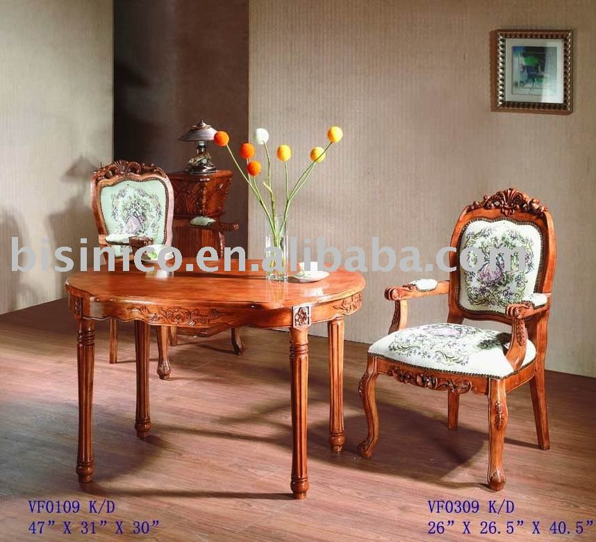 In stile americano sala da pranzo insieme tavolo da - Mobili stile americano ...
