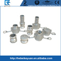 Casting Pipe Fittings with Stainless Steel Material Quick Couplings