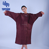 A10202 Crinkle Nylon Teflon Coating Beauty Salon Hairdressing Gowns