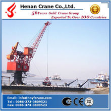 Single jib portal crane with hook,grab,magnet,container spreader