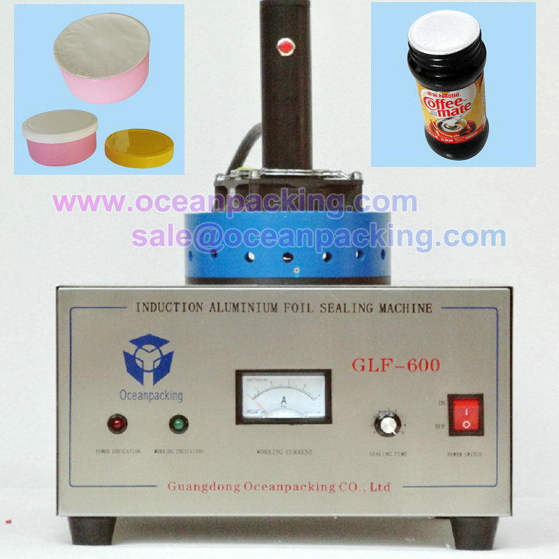 Bottom price antique bottle aluminum foil sealing machines