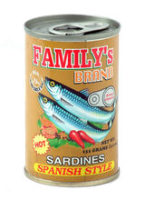 Family's Brand Sardines in Oil, Spanish Style