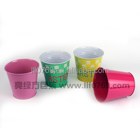 metal mini tin bucket/pail for candy/cookies/