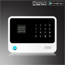 Monthly free pay! best wireless home alarm security system Quad-band GSM and Wifi ,work in any countries around the world