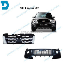 2012 pajero v97 FRONT BUMPER AND GRILLE
