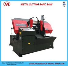 Fully Automatic Metal Cutter Band Saw Cutting Machine GS320 for Iron Steel Wood Meat Plastic
