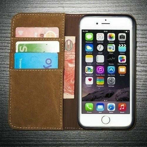 Hot Sale Magnetic Pu Leather Wallet Stand Flip Case For IPhone 6