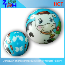 2016 hot sales PU stress ball with animals patterns