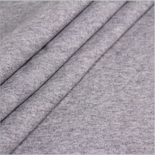 Wholesale fashion soft cloth made knit fabric single jersey