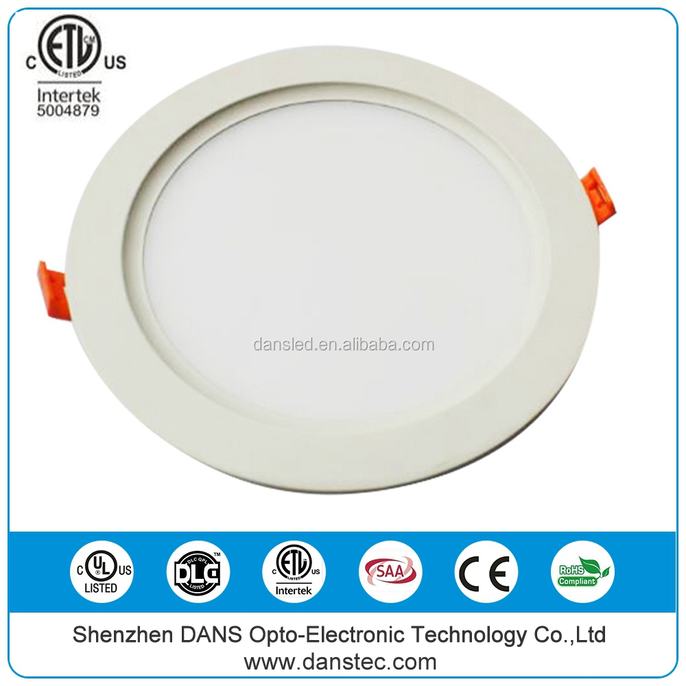 cETL kitchen Housing Slim Ultra Thin surface mounted led ceiling pot panel lights with junction box