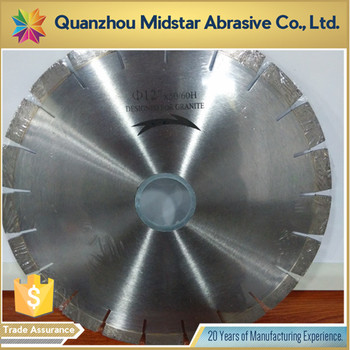 "Professional 14"" Segmented Diamond Cutting Blade with Fast Speed"