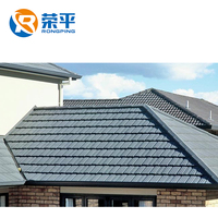 colourful metal roofing tiles building construction material asphalt shingle