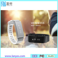 OEM Branded LED smart wristband heart rate fitness tracker wrist watch band