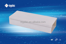 Hide material network cable trunking pvc cable trunking size plastic wiring duct