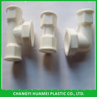 High Quality PVC Plastic Pipe Joints