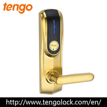 Luxury High Quality Patent Design Intelligent RF Card Wireless Hotel Door Lock for Star Hotels
