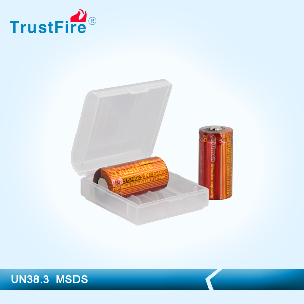 TrustFire longest lasting e cig battery IMR16340,Best selling product military cheap power tools from original manufacture