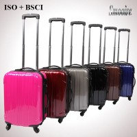 New style colorful fashion hard shell PC cute suitcase for girls