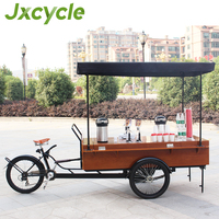 New cafe tricycle Electric coffee bike/food carts for sale