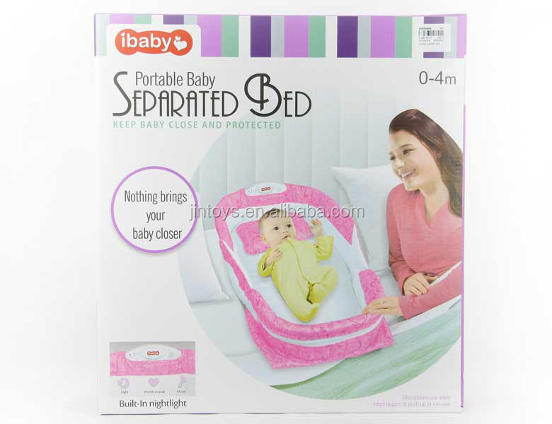 Portable Baby Separated Bed size 75*41*14CM for baby 0-4 Month