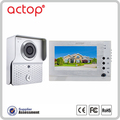 Villa Video Intercom With Door Release,Waterproof Talking smart Video Doorbell