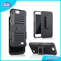 Innovative Design Plastic Belt 3 in 1 Phone Cover Case for ZTE A465 A475