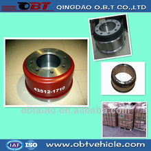 brake drums trailer spare parts truck parts