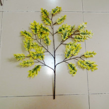 CHY070918 Wholesale fake oak leaf/autumn tree leaf decoration/artificial tree branches oak leaves