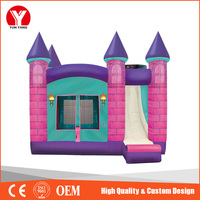 Hot commercial Inflatable bouncer castle, castle inflatable
