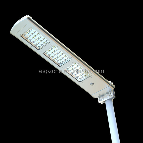 High Lumen New Automatic Outdoor Led Solar Street Light Control