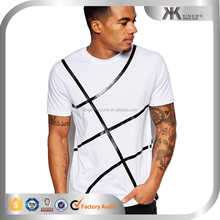 New arrival printed casual summer mens t shirts, youth boys clothing court t-shirt printing for man