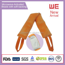 Microwaved Activated Thermal neck Wrap with hot/cold Gel Pack