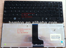 Teclado laptop for Toshiba M640 Glossy black Latin V114502EK1 Spanish laptop keyboard