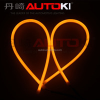 Autoki 65cm DRL Flexible LED Tube Strip Style Daytime Running Lights Tear LED Car Strip Headlight turn Signal light Parking lamp