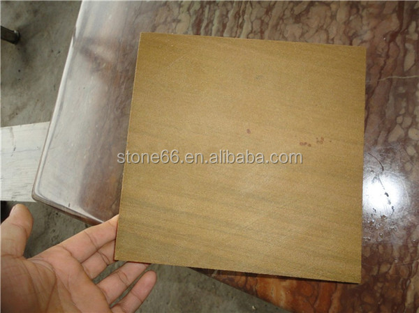 Yellow / Beige Sandstone,Bush Hammered Surface Finishing and Sandstone Type