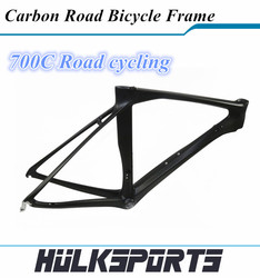 Toray T700 carbon road bike frame super light giant xtc lauf carbon frame Include fork and seat post frameset cadre velo