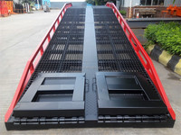 Red Color Mobile dock ramp