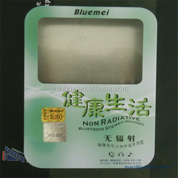 Factory directly airphone tin box with window