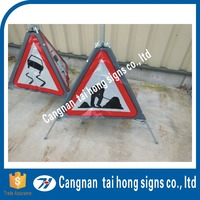 Wholesale plastic triangle road signs for road safety