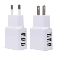 Factory Price Travel USB Adapter US/EU Plug For Samsung, Universal Adaptor for Samsung Tablet